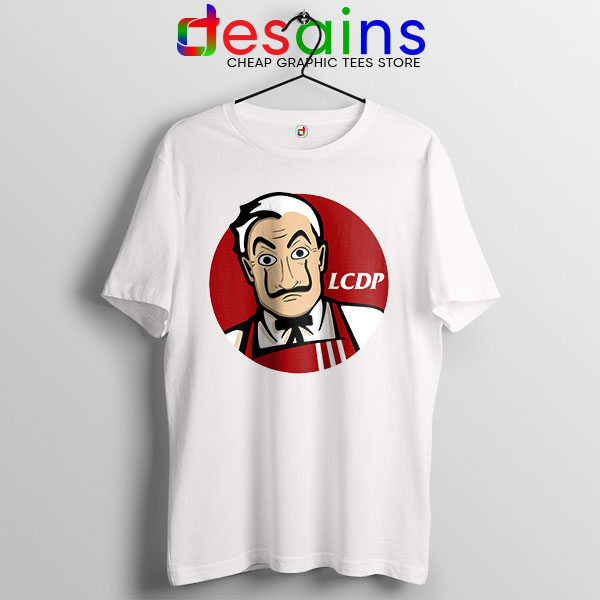 Money Heist The Masks Tshirt Funny KFC Logo