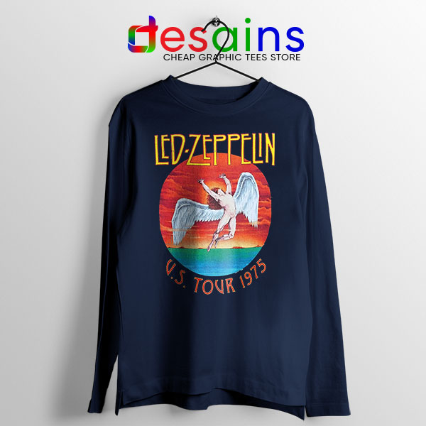 North American Tour 1975 Long Sleeve Tee Led Zeppelin