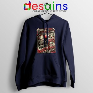 Pennywise The Clown Bobblehead Navy Hoodie IT Movie