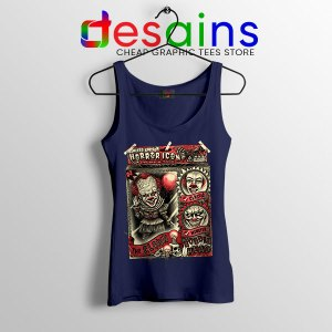 Pennywise The Clown Bobblehead Navy Tank Top IT Movie