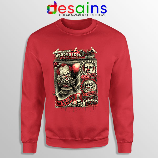 Pennywise The Clown Bobblehead Red Sweatshirt IT Movie