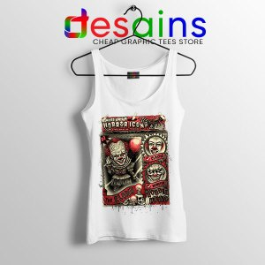 Pennywise The Clown Bobblehead White Tank Top IT Movie