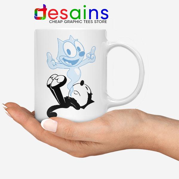 RIP the Cat Felix Funny Mug Cartoon Characters