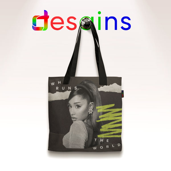 Rule the World Ariana Grande Tote Bag Song
