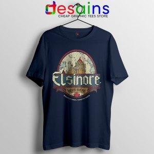 Strange Brew Elsinore Beer Navy T Shirt 1983 Canadian