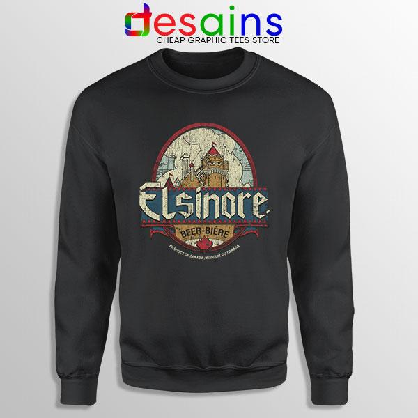 Strange Brew Elsinore Beer Sweatshirt 1983 Canadian