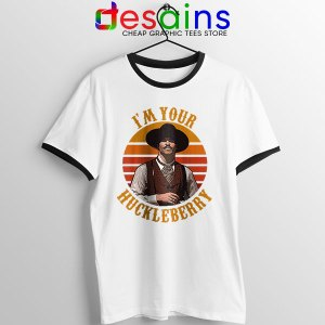 Vintage Your Huckleberry Ringer Tee Tombstone