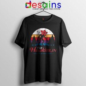 Visit Hawkins Stranger Things Tshirt The Upside Down