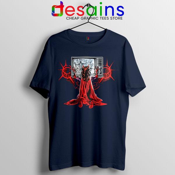Wanda Scarlet Witch Power Navy Tshirt WandaVision