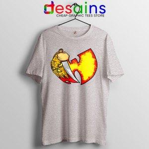 Wu Tang Clan Symbol Halloween SPort Grey Tshirt Horror Nights