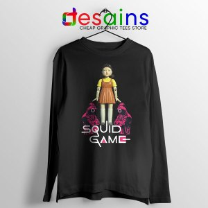 Best Squid Game Design Long Sleeve Tee Netflix Poster