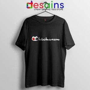 Chicharon Food Champion Black Tshirt Filipino Pork