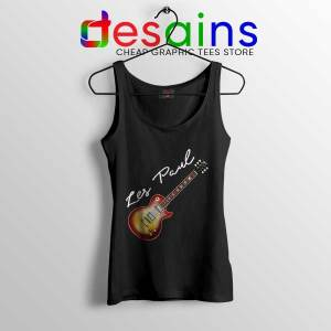 Classic Gibson Les Paul Tank Top Guitar Vintage