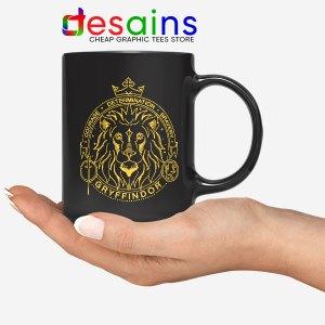 Houses of Hogwarts Lion Mug Gryffindor Logo