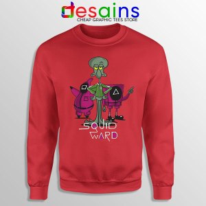 Squidward Squid Game Meme Face Sweatshirt Funny