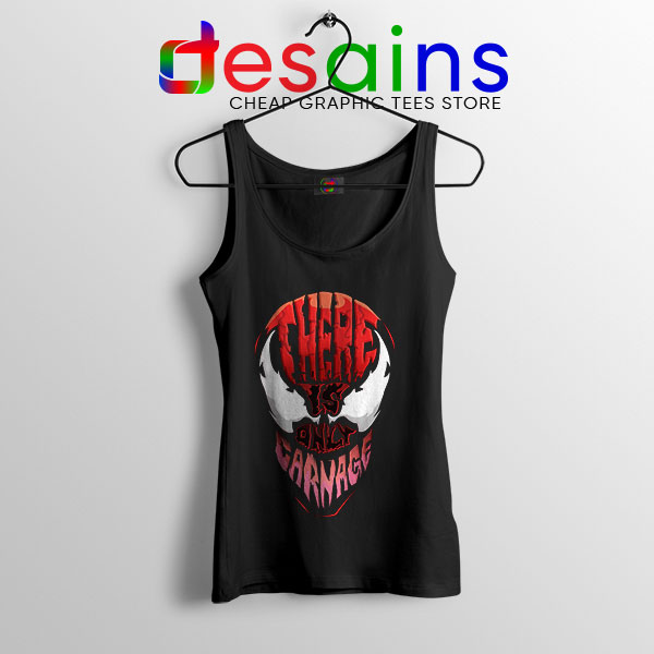 There is Only Carnage Tank Top Symbiote Comics