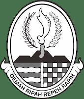 Logo Jawa Barat Hitam Putih