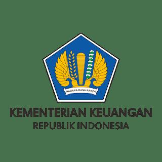 Logo Kementerian keuangan vektor