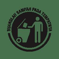 Logo Recycle Dan Buang Sampah Pada Tempatnya Vector Png Download Desaintasik Com