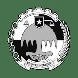 Logo Koperasi  Hitam Putih Vektor