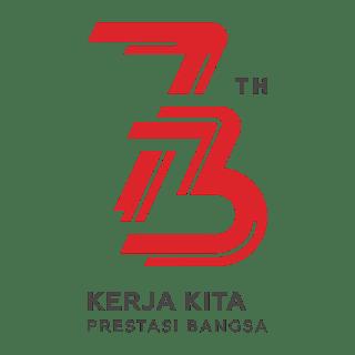 Logo HUT RI 73 CDR PNG HD Free Download