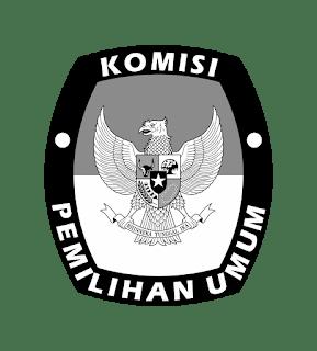 Logo KPU Hitam Putih PNG