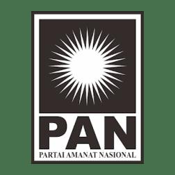 Logo PAN hitam putih