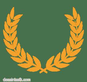 Gambar, lambang logo padi vektor png