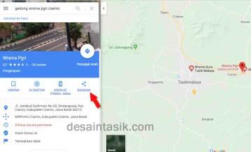 2 Cara Mudah Membuat QR Code Peta Lokasi dari Google Map