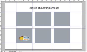 Cara Mudah Menghilangkan atau Menghapus Garis bantu Di Photoshop