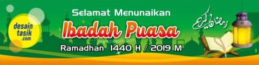 Download Spanduk Ramadhan 2019 Gratis Vector Cdr