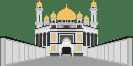 desaintasik-masjid vector 1