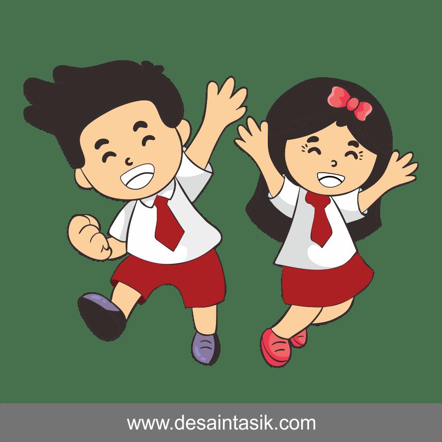 Gambar Karikatur Anak Sekolah Smp Ideku Unik
