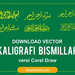 desaintasik-tulisan-kaligrafi-bismillah-vector