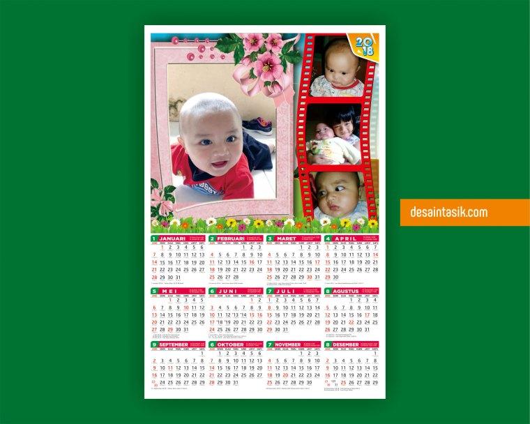 Desain Kalender Foto Sendiri, Anak atau Keluarga ...