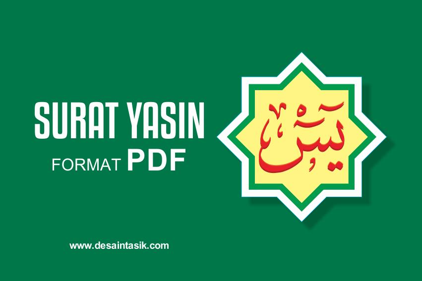 Surat Yasin PDF download lengkao