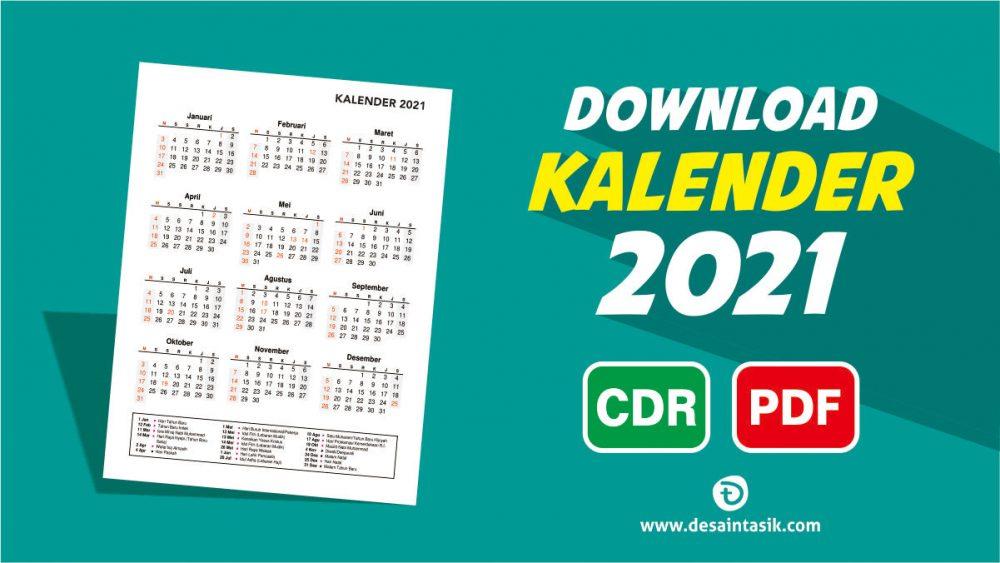 Kalender 2021 Masehi dan Hijriyah Lengkap Vector Free ...
