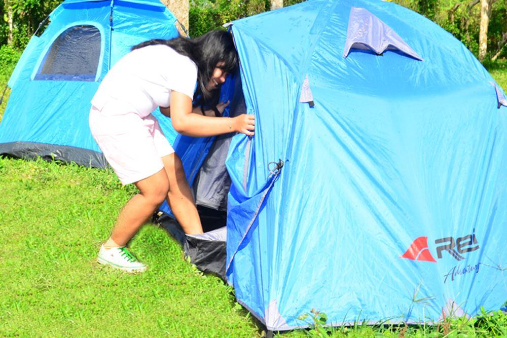 Camping di Desa Penglipuran Bangli Bali - Tenda Dome 01