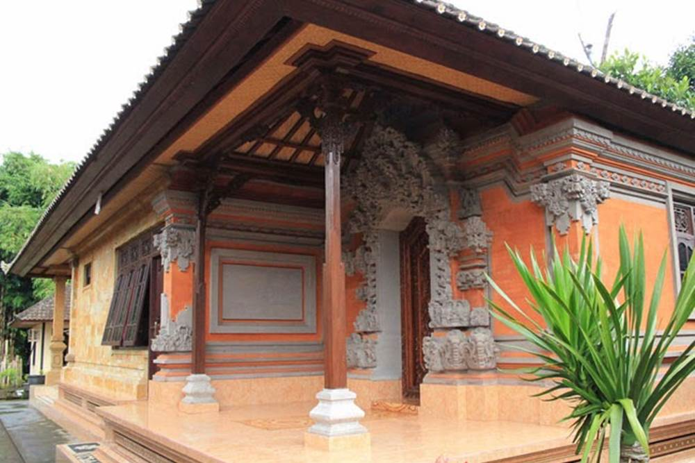 Santika Homestay Desa Penglipuran Bangli Bali - Depan