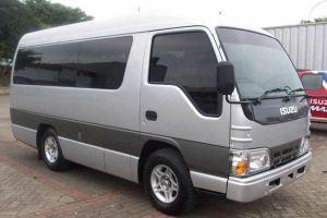 Transport Service Isuzu Elf Desa Penglipuran 01