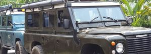 Transport Servise Desa Penglipuran - Land Rover