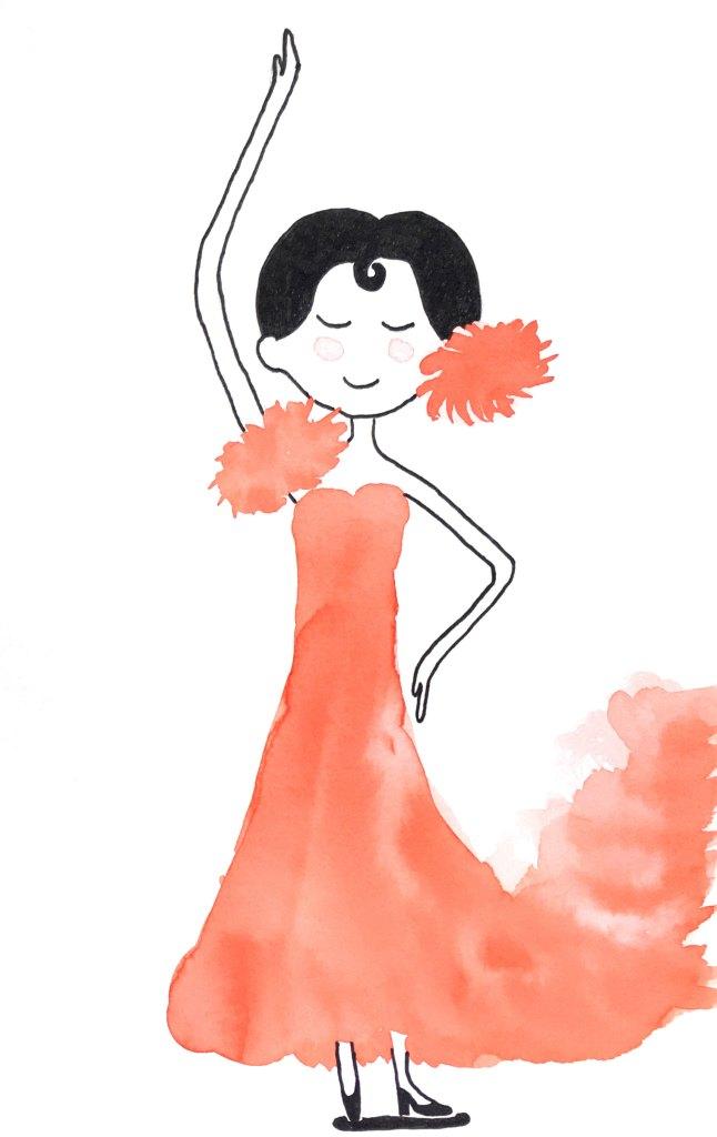 bailarina flamenco