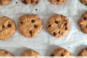 cookies de harina de coco