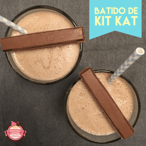 batido de kit kat
