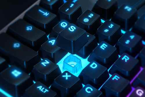 Test clavier gamer SteelSeries Apex 3