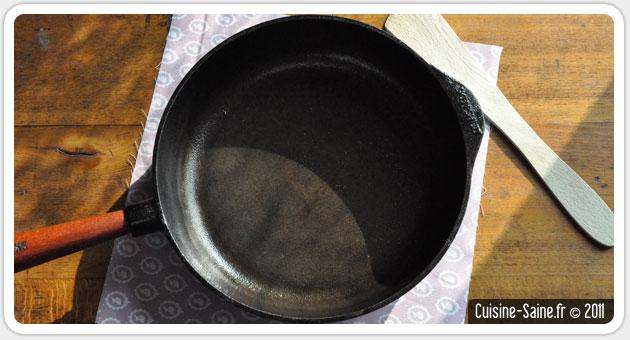 casserole fonte naturelle