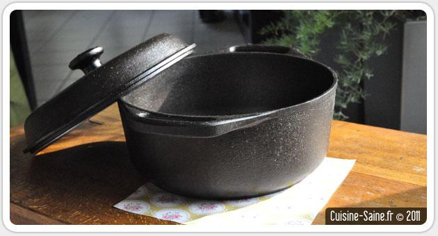 casserole inox induction