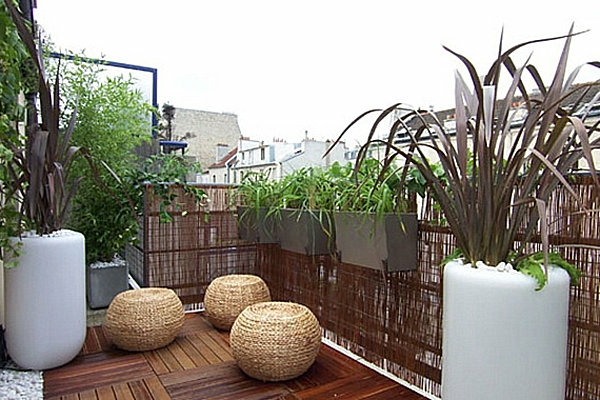pergola bambou