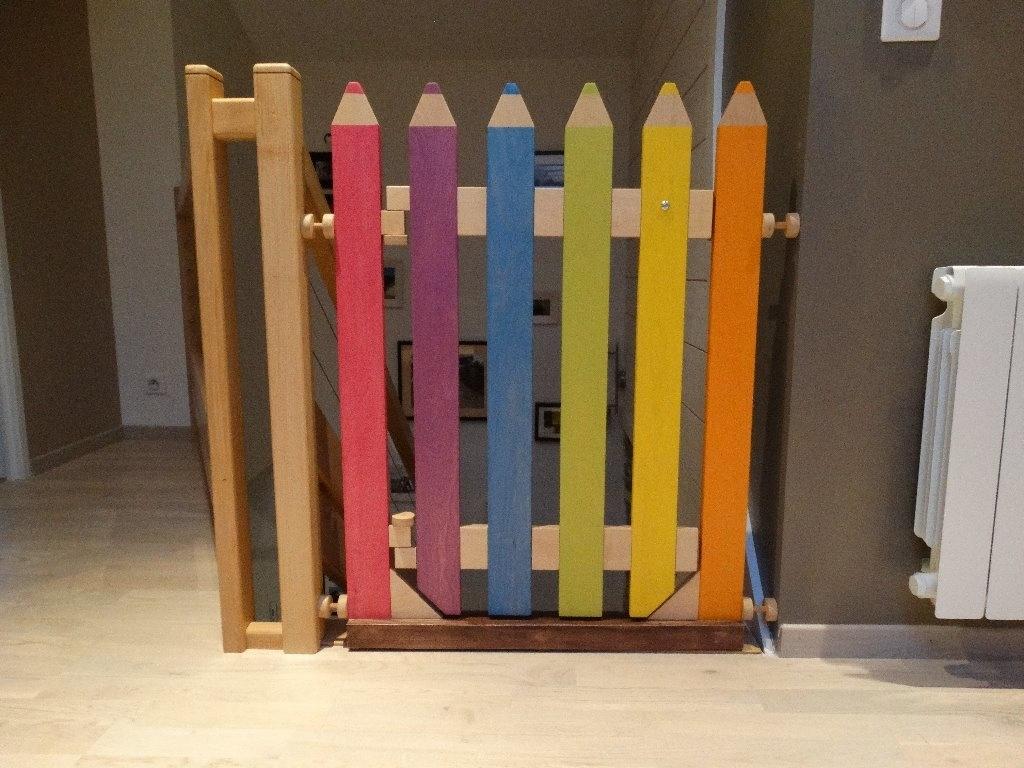 barrière de sécurité pour enfant