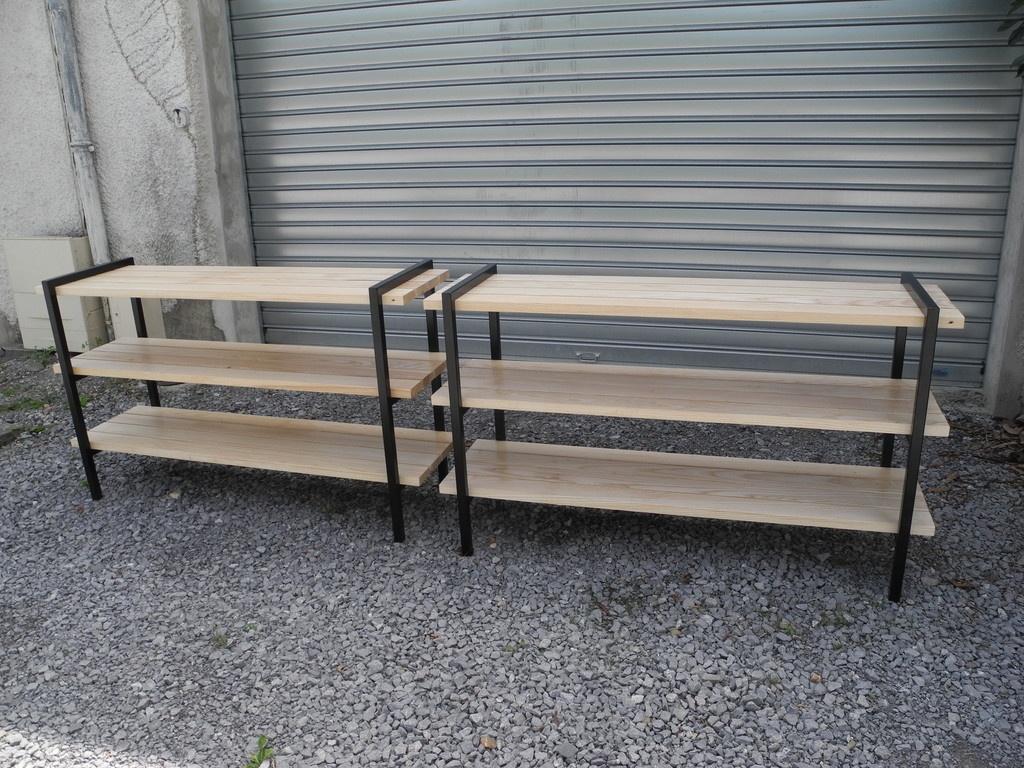 etagères bois